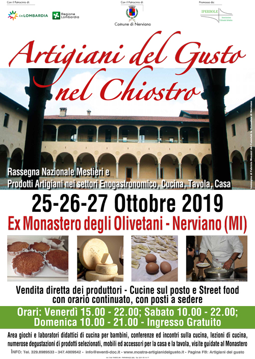 Manifesto-Artigiani-del-Gusto-nel-chiostro-Nerviano-2019-